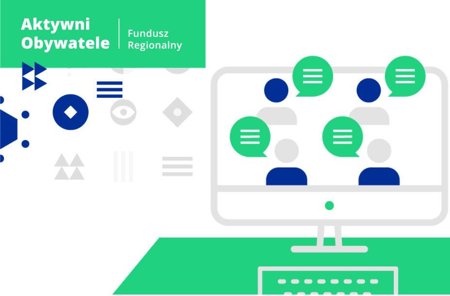 Ilustracja do informacji: Program Aktywni Obywatele - Fundusz Regionalny